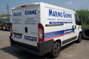 Marmo Gomme furgone
